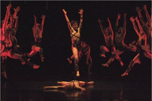 image of ballet dancers in the Rite of Spring